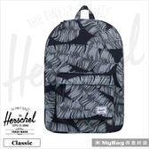 Herschel 後背包 黑棕櫚 經典後背包 Classic-1984 MyBag得意時袋
