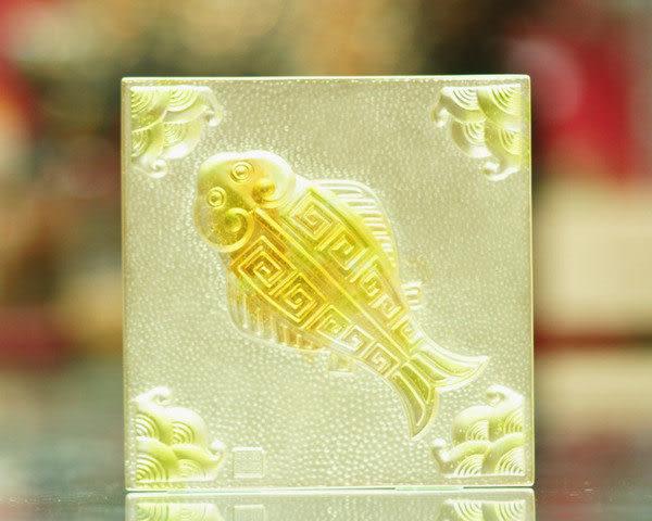 鹿港窯~居家開運琉璃磚【有餘】 附古法製作珍藏保證卡◆免運費送到家