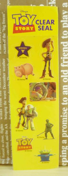【震撼精品百貨】Metacolle 玩具總動員-貼紙-胡迪與小豬圖案