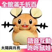 【小福部屋】日本 Takara Tomy 可互動咚咚鼠娃娃 寶可夢 神奇寶貝 太陽與月亮 日月版