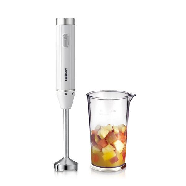 美國Cuisinart 極輕量多功能手持式變速攪拌棒 HB-200WTW(附攪拌杯)
