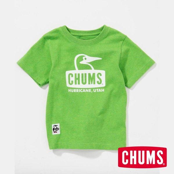 CHUMS 日本 童 Booby 短袖T恤 淺綠 CH211051M006