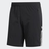 ADIDAS 短褲 運動短褲 MUST HAVES 3-STRIPES SLIM 黑 白三線LOGO 透氣 慢跑 男 (布魯克林) GJ5109