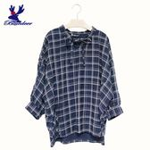 American Bluedeer-領綁帶格紋衣(魅力價)
