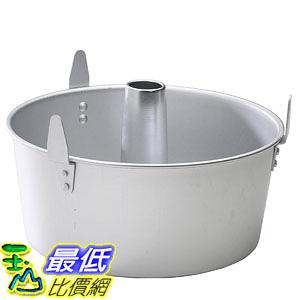[106美國直購] Nordic Ware 54901 天使蛋糕 烤盤 Natural Aluminum Commercial 2-Piece Angel Food Pan