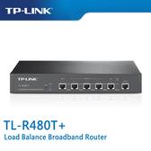 【免運費-預購】TP-LINK TL-R480T+ 負載平衡 寬頻路由器 ( 最高可達 4 個 WAN 連接埠 )