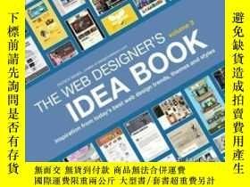 二手書博民逛書店The罕見Web Designer s Idea Book, Volume 3-網頁設計師的創意書,第三卷Y4