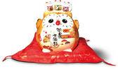 【金石工坊】開運大招福貓頭鷹(高16.5CM)開店送禮 開業禮品 陶瓷開運風水擺飾 撲滿存錢筒