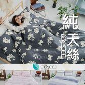 『多款任選』奧地利100%TENCEL涼感純天絲6x7尺雙人特大床包枕套+舖棉涼被組/床單 空調被 四季被