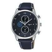 【人文行旅】Agnes b. | 法國簡約雅痞 FBRD972 太陽能時尚腕錶 41mm