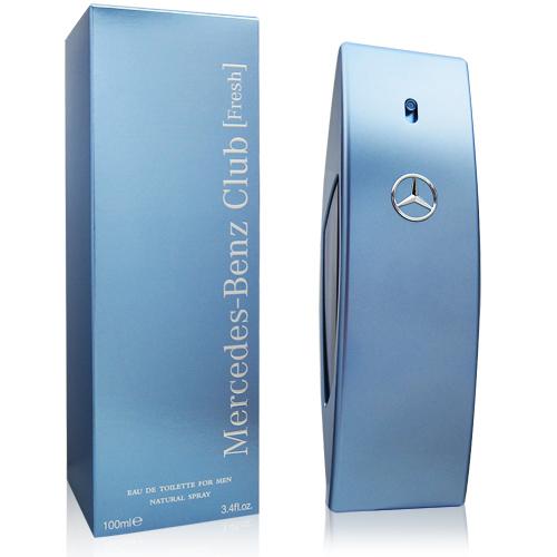Mercedes Benz Club Fresh男性淡香水100ml【QEM-girl】