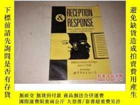 二手書博民逛書店《Reception罕見and Response: Hearer