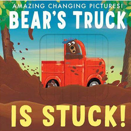 Bear's Truck Is Stuck! Amazing Changing Pictures 比利熊的車子卡住了! 操作書