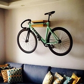 bookbike自行車架室內架子家用牆壁掛架實木展示架自行車停車架JY ATF 夏季新品