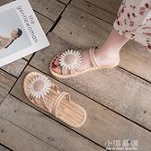 2020年夏季新款平底小清新學生仙女風潮配裙子羅馬百搭涼鞋女『小淇嚴選』