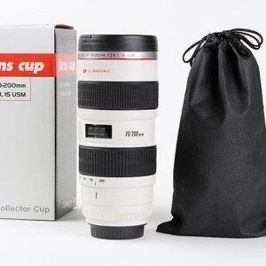 巨安網購?【1188】S款 單眼相機鏡頭杯 新款附杯蓋
