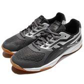 Asics 羽球鞋 Upcourt 2 灰 銀 2代 輕量 透氣 亞瑟士 運動鞋 男鞋【PUMP306】 B705Y-9590