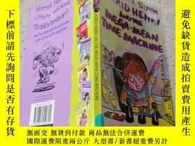 二手書博民逛書店horrid罕見henry and the mega mean time machine 可怕的亨利和超級機器
