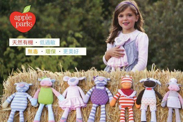 美國 Apple Park 農場好朋友 有機棉萬用方巾 - 衝浪酷雞