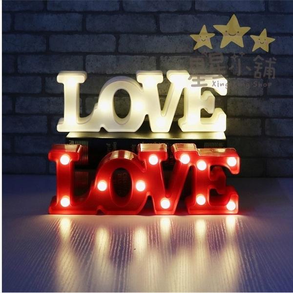 星星小舖 ins love 字母燈 求婚 生日 驚喜 告白 led燈 愛心燈 拍照道具婚禮【DA104】