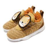 Nike Lebron XVI LB TD Little Big Cats 咖啡 黑 免綁鞋帶 籃球鞋 童鞋 小童鞋【PUMP306】 AT5709-700
