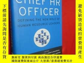 二手書博民逛書店The罕見Chief HR Officer: Defining