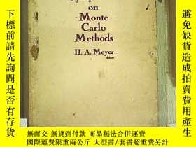 二手書博民逛書店Symposium罕見on Monte Carlo Method
