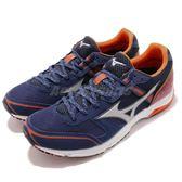 Mizuno 路跑鞋 Wave Emperor 3 Wide 藍 橘 馬拉松 推薦 運動鞋 男鞋【PUMP306】 J1GA1877-03