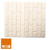 特力屋 隔音泡棉磚 深紋白 型號Q001