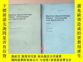 二手書博民逛書店electron罕見spectroscopy:theory,techniques and applications