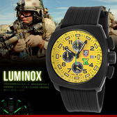 LUMINOX 雷明時 FIELD SPORTS 44mm/YL/美軍指定碳纖錶/軍錶/1105 熱賣中!