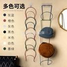 6個裝掛帽子神器家用帽架帽子收納架門後帽架子衣帽整理壁掛掛鉤 NMS設計師