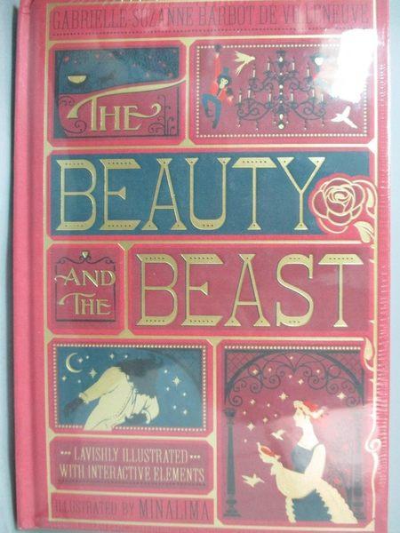 【書寶二手書T6/原文小說_XCZ】The Beauty and the Beast_Barbot de Villenu