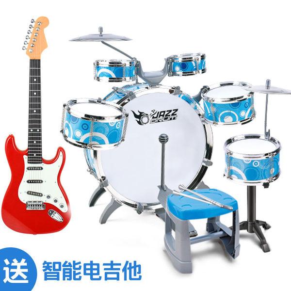 大號兒童架子鼓初學者寶寶樂器爵士鼓1-3-6歲小男孩女孩益智玩具 全館免運