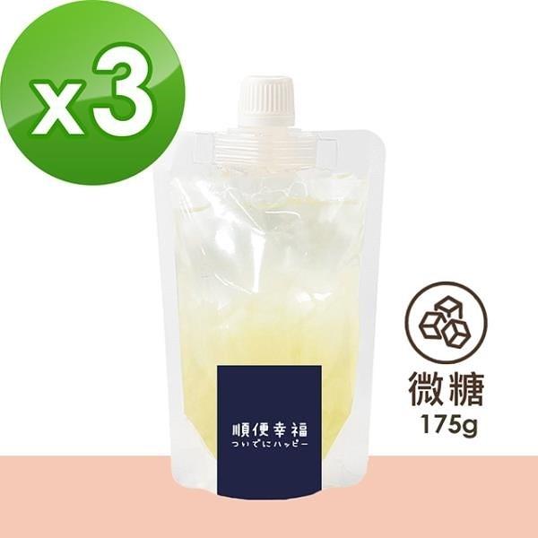 【南紡購物中心】順便幸福-盛夏沁涼白木耳露隨身包-原味微糖3包(175g/包)