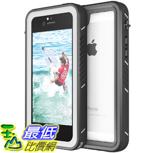 [8美國直購] 防水手機殼 Waterproof Case for iPhone 5S/SE, Eonfine Shockproof Protective B07LFYCSM8
