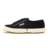 【superga】 義大利時尚帆布鞋Classic 2750-Canvas基本款(黑)