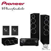 Pioneer VSX-LX103(B) + Wharfedale DM240/DM220C/DW-6 5聲道家庭劇院組【公司貨保固+免運】