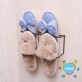 浴室創意拖鞋架衛生間簡易門后墻壁掛式小鞋架家用經濟型收納鞋架xw