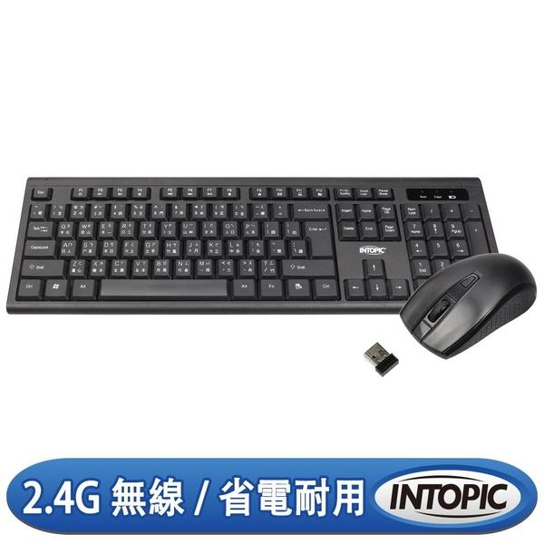【神腦生活】INTOPIC 2.4GHz 無線鍵盤滑鼠組合包 KCW-938