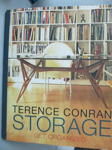 【書寶二手書T4/設計_ZBY】Storage: Get Organized_Conran, Terence