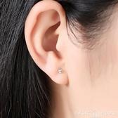 耳環999純銀養耳棒耳環養耳洞防過敏耳棍男耳針防堵針耳飾耳釘女純銀 新年禮物