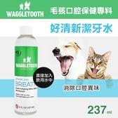 【毛麻吉寵物舖】WAGGLETOOTH 好清新潔牙水