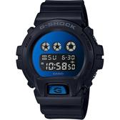 CASIO 卡西歐 G-SHOCK 經典坦克手錶-鏡面藍 DW-6900MMA-2 / DW-6900MMA-2DR
