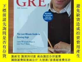 二手書博民逛書店Crash罕見Course for the New GRE 4t