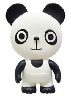 『121婦嬰用品館』貝親 樂雅軟膠-熊貓