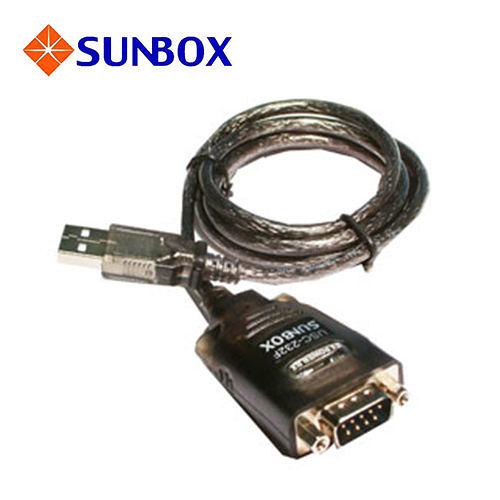 慧光展業 USB to RS232 轉換器 USC-232F SUNBOX