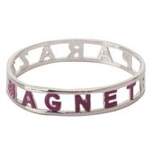 KITSON magnet紫銀金時尚漸層手環140310