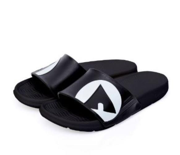 AIRWALK 男女款戶外休閒拖鞋 黑-No.A755220220