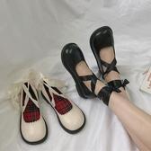 lolita鞋lolita鞋原創日系公主鞋洛麗塔jk單鞋女軟妹蘿莉黑色綁帶小皮鞋 衣間迷你屋
